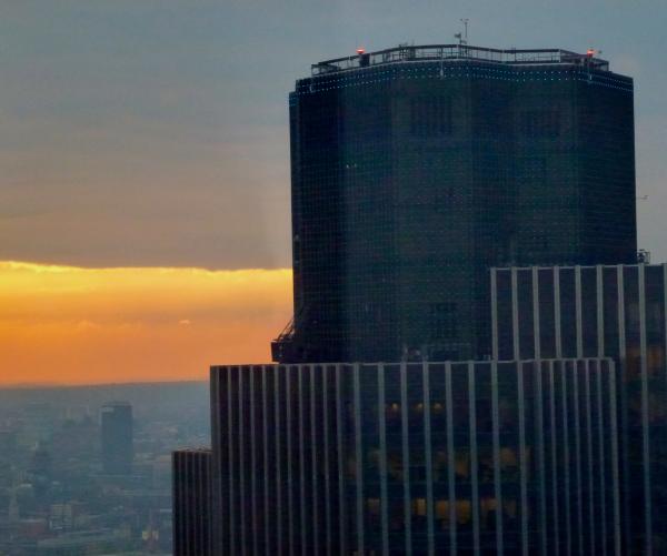 Tower 42 dusk